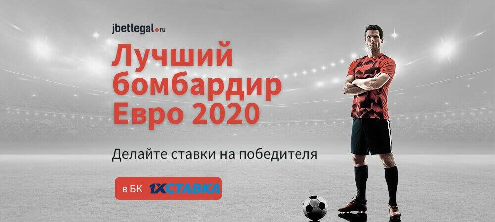 Ставки на лучшего бомбардира Евро 2020 / 2021