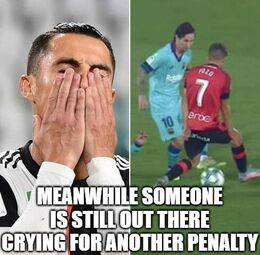 Another penalty memes
